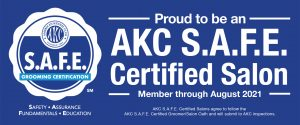 AKC Safe Grooming Certificate